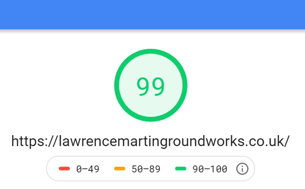 Lawrence Martin Groundworks Desktop Score