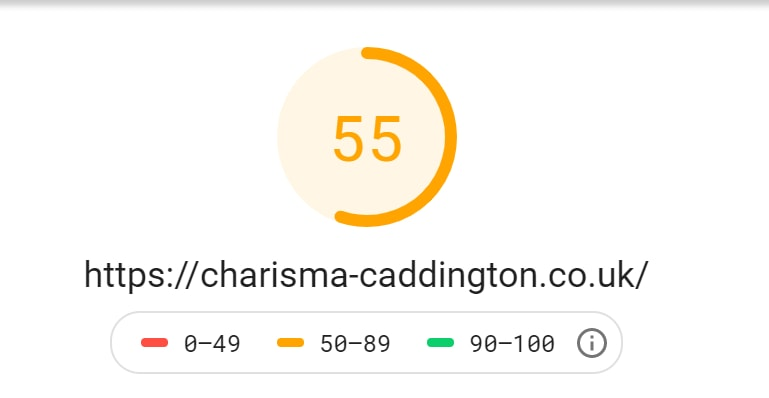 Charisma Caddington Mobile Score