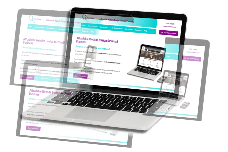 4 Page Website Packages
