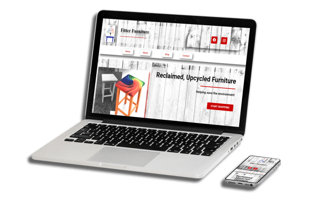 Fitter Furniture – Our New Website Design