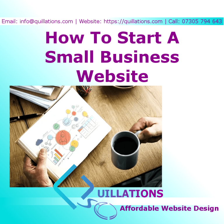 How To Start A Small Business Website In 6 Steps