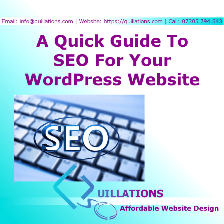 A 5 Step Quick Guide To SEO For Your Website