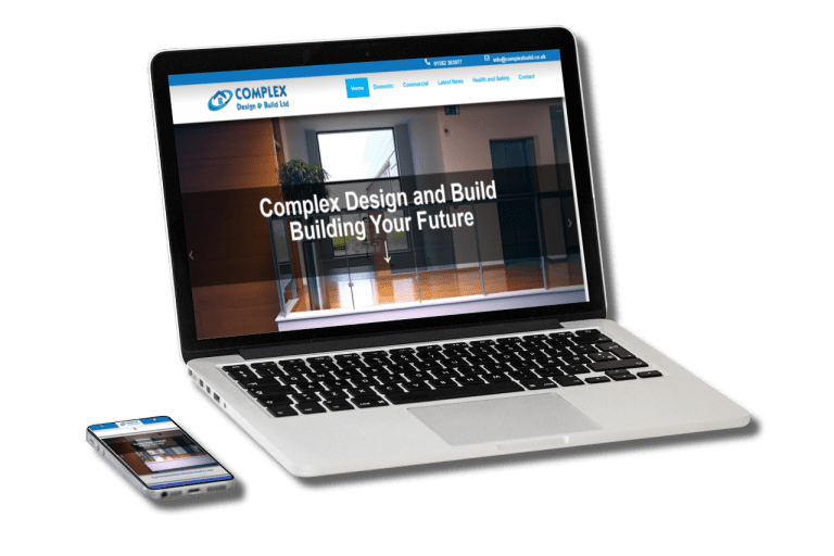Complex Design & Build – Our Latest Website Design