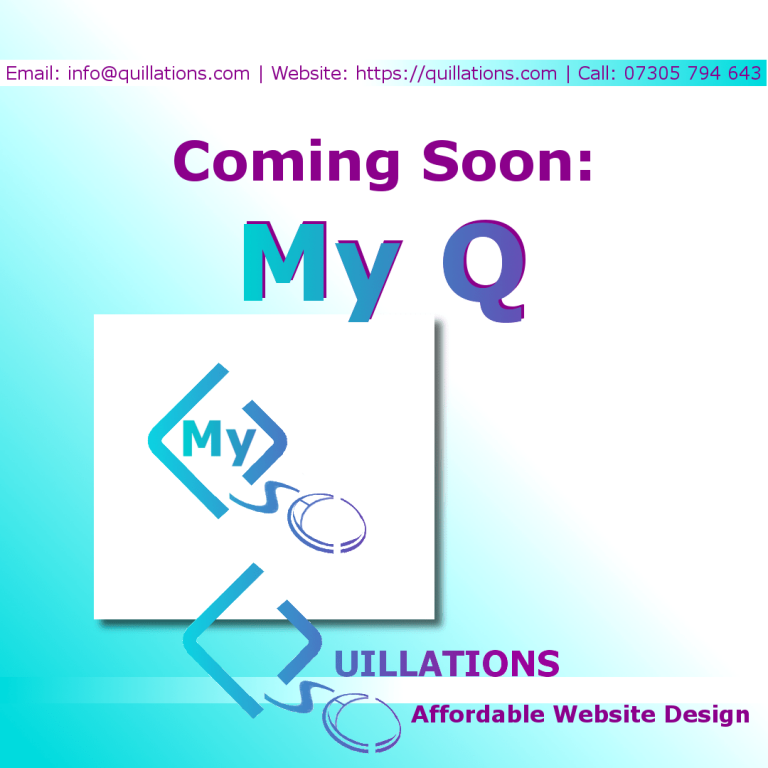 "Coming Soon – ""My Q"" Client Pages"