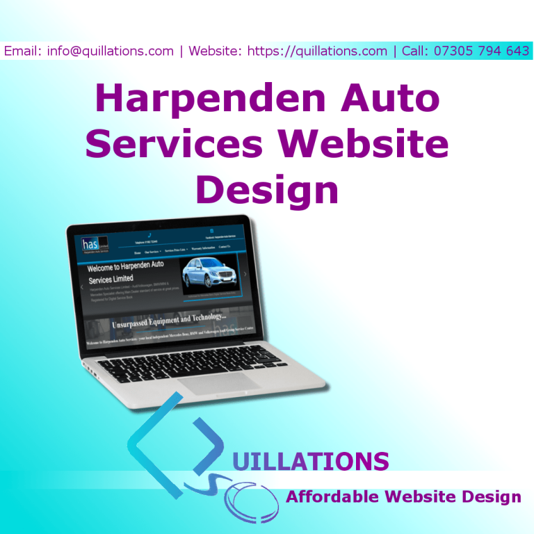 Harpenden Auto Services – Our Latest Website Design
