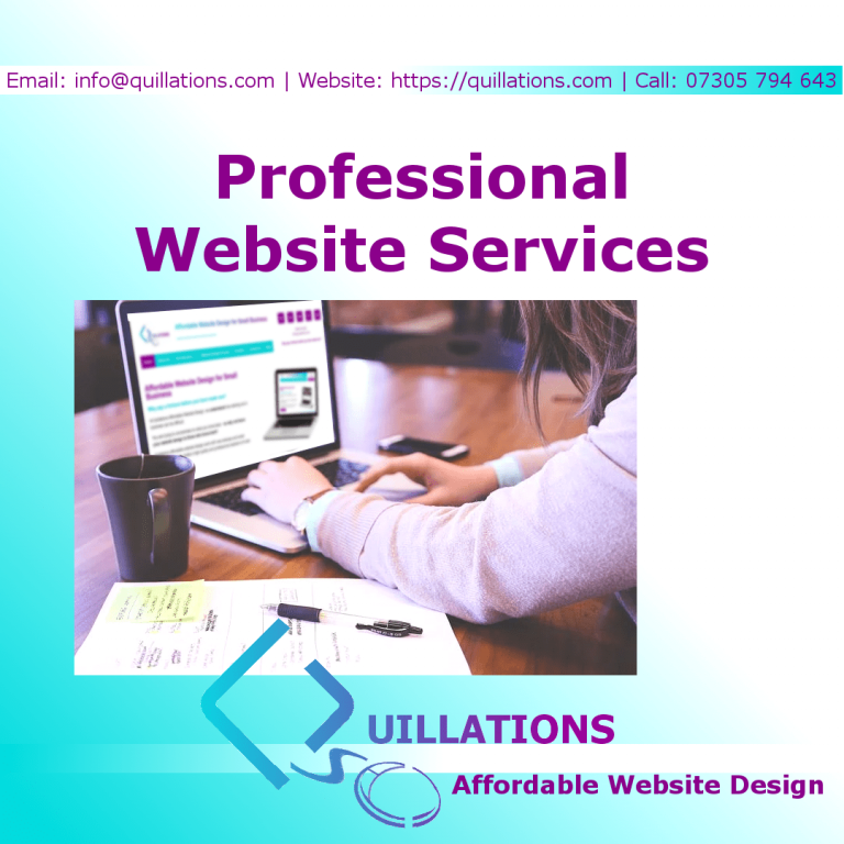 Quillations Professional Website Services
