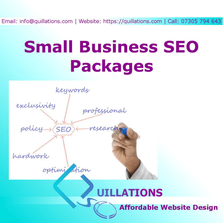 Quillations Small Business SEO Packages