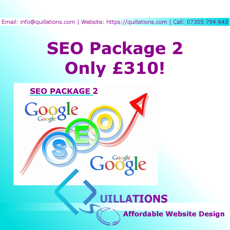 Small Business SEO Package 2