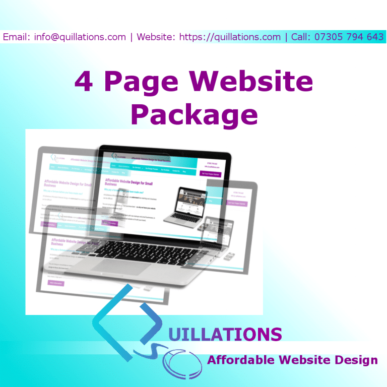 4 Page Web Design Package