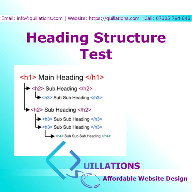 Heading Structure Test