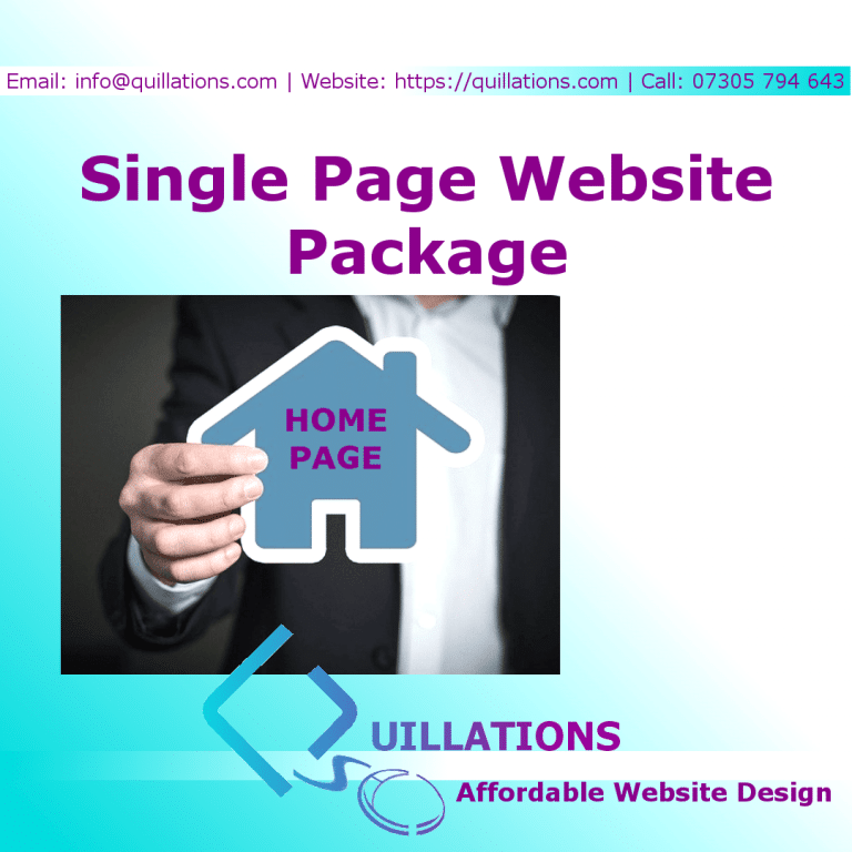 Single Page Package