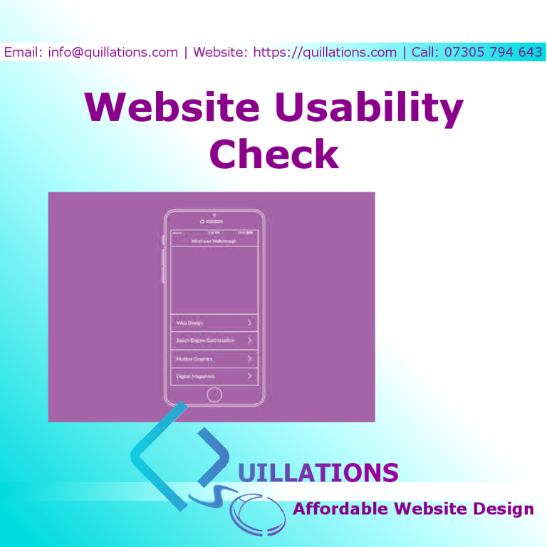 Website Usability Check