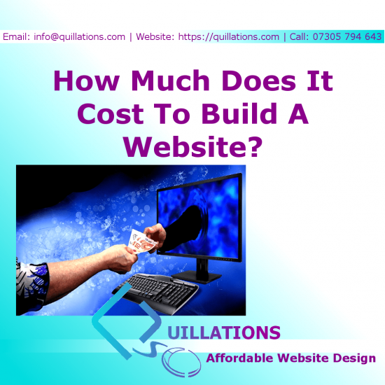 How Much Does It Cost To Build A Website In The UK