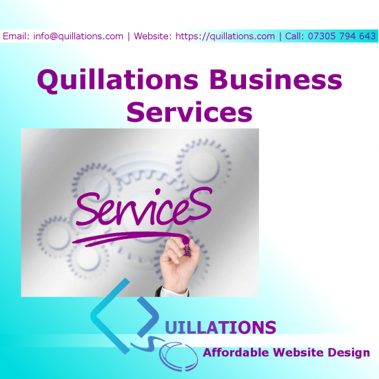 Business Services from Quillations