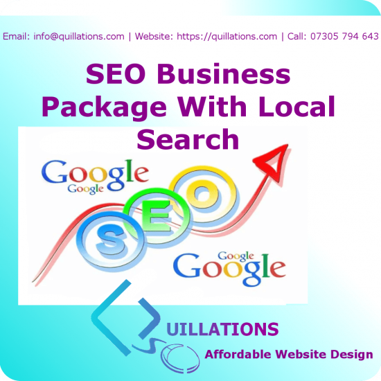 SEO Business Package With Local Search