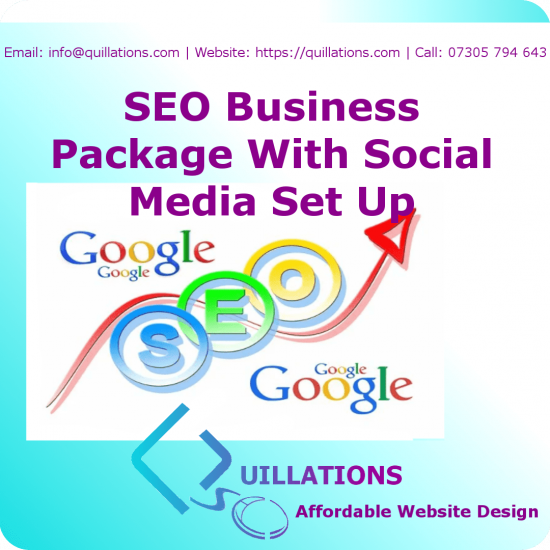 SEO Business Package With Social Media Set Up