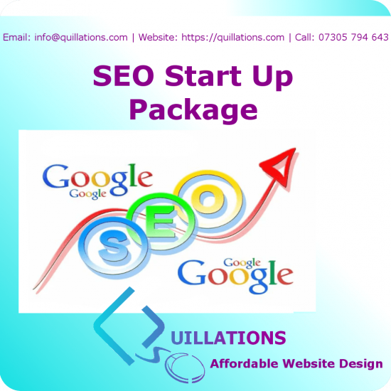 SEO Start Up Package