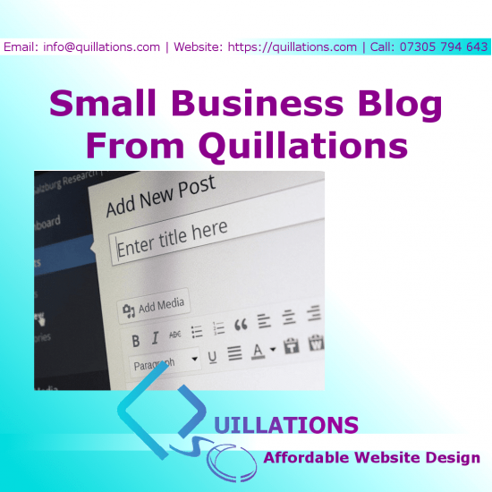 Quillations Small Business Blog