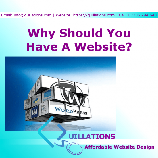 Why Should You Have A Website For Your Small Business